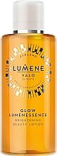 Парфюмерия и Козметика Изсветляващ лосион за лице - Lumene Valo Glow Lumenessence Lotion