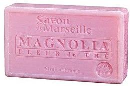 """Парфюмерия и Козметика Натурален сапун """"Магнолия и цвят от чаено дърво"""" - Le Chatelard 1802 Soap Magnolia and Tea Flowers"""