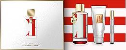 Парфюми, Парфюмерия, козметика Carolina Herrera CH L'Eau 2017 - Комплект (тоал. вода/100ml + лосион за тяло/75ml + тоал. вода/10ml)
