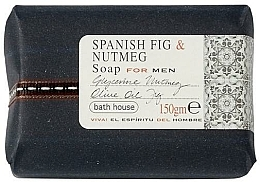 Парфюмерия и Козметика Bath House Spanish Fig and Nutmeg - Парфюмен сапун