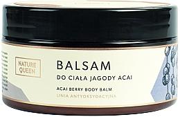 """Парфюмерия и Козметика Балсам за тяло """"Асаи"""" - Nature Queen Body Balm"""