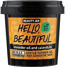 """Парфюми, Парфюмерия, козметика Душ гел за чувствителна кожа """"Hello, Beautiful"""" - Beauty Jar Gentle Shover Gel"""