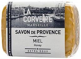 """Парфюмерия и Козметика Провансалски сапун """"Мед"""" - La Corvette Provence Soap Honey"""