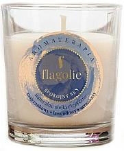 """Парфюмерия и Козметика Ароматна свещ """"Спокоен сън"""" - Flagolie Fragranced Candle Rest Sleep"""