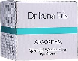Парфюмерия и Козметика Околоочен крем - Dr Irena Eris Algorithm Splendid Wrinkle Filler Eye Cream
