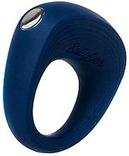 Парфюмерия и Козметика Вибриращ пръстен, син - Satisfyer Rings 2