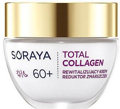 Възстановяващ дневен и нощен крем против бръчки 60+ - Soraya Total Collagen 60+ — снимка N2