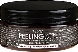 Парфюмерия и Козметика Пилинг за тяло със спирулина и масло от опунция - E-Fiore Body Peeling