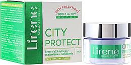 Парфюми, Парфюмерия, козметика Крем за комбинирана и мазна кожа - Lirene City Protect Cream