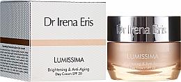 Парфюмерия и Козметика Изсветляващ дневен крем против бръчки - Dr. Irena Eris Lumissima Brightening & Anti-Aging Day Cream SPF 20