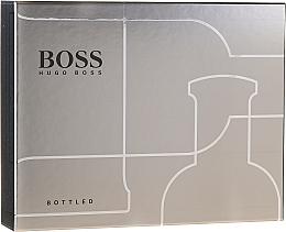 Парфюмерия и Козметика Hugo Boss Boss Bottled - Комплект (душ гел/50ml + тоал. вода/100ml + афтър. балсам/75ml)