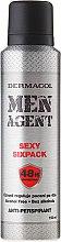 Дезодорант против изпотяване - Dermacol Men Agent Sexy Sixpack 48H Protection Anti-Perspirant — снимка N1