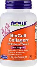 """Парфюмерия и Козметика Капсули """"Колаген"""", за здрави стави и кожа - Now Foods BioCell Collagen Hydrolyzed Type II"""