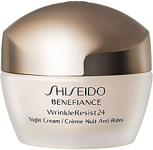 Парфюми, Парфюмерия, козметика Хидратиращ антистареещ нощен крем за лице - Shiseido Benefiance WrinkleResist24 Night Cream (тестер)