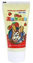 Парфюми, Парфюмерия, козметика Детска паста за зъби с аромат на ягода - Mattes Rabbit Children Toothpaste