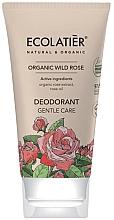 "Парфюмерия и Козметика Дезодорант ""Нежна грижа"" - Ecolatier Organic Wild Rose Deodorant"