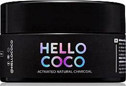 Парфюмерия и Козметика Избелваща пудра с въглен за зъби - Hello Coco Sweet Mint Activated Natural Charcoal Teeth Whitener