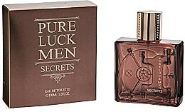 Парфюмерия и Козметика Linn Young Pure Luck Men Secrets - Тоалетна вода