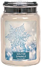Парфюми, Парфюмерия, козметика Ароматна свещ - Village Candle Winter Sparkle
