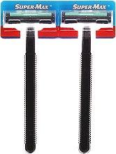 Парфюми, Парфюмерия, козметика Комплект самобръсначки 48 бр. - Super-Max Long Handle 2