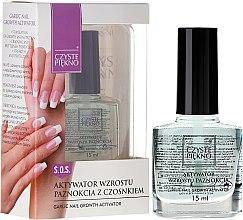 Парфюми, Парфюмерия, козметика Активатор за растежа на нокти - Czyste Piekno Garlic Nail Growth Activator