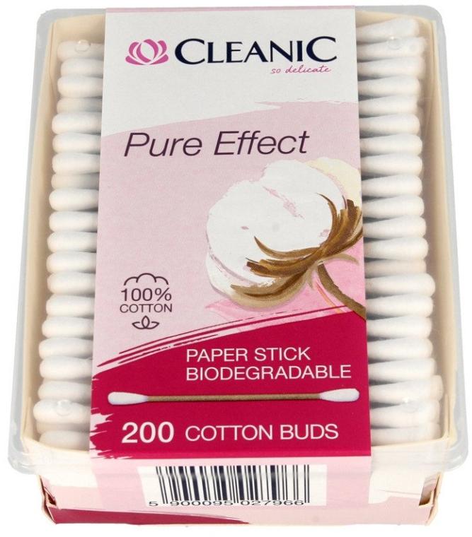 Клечки за уши - Cleanic Pure Effect — снимка N1
