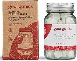 Парфюмерия и Козметика Натурални таблетки за почистване на зъби с евкалиптово масло - Georganics Toothtablets Eucalyptus