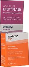 Парфюмерия и Козметика Комплект с интензивен серум и ампули с гликолова киселина - SesDerma Laboratories Efekt Flash (serum/2ml + serum/2ml)