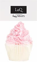 """Парфюмерия и Козметика Ръчно изработен натурален сапун """"Мъфин"""" с аромат на вишна - LaQ Happy Soaps Natural Soap"""