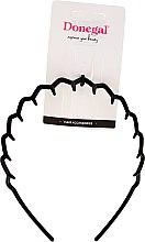 Диадема за коса в черен цвят, FA-9919 - Donegal — снимка N2