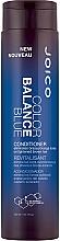 Парфюмерия и Козметика Балсам за премахване на жълти оттенъци - Joico Color Balance Blue Conditioner
