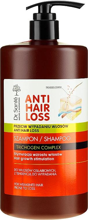 Шампоан за изтощена и склонна към косопад коса (с дозатор) - Dr. Sante Anti Hair Loss Shampoo