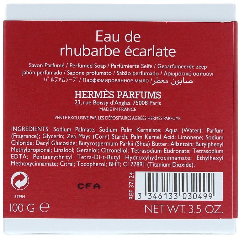 Сапун - Hermes Eau de Rhubarbe Ecarlate  — снимка N2