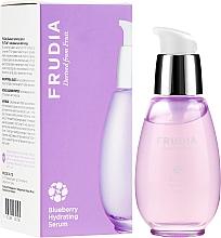 Парфюмерия и Козметика Хидратиращ серум за лице с боровинка - Frudia Blueberry Hydrating Serum