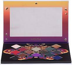 Парфюмерия и Козметика Палитра сенки за очи - Moira Soul of Fire Shadow Palette