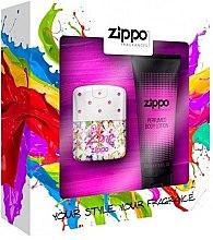Парфюми, Парфюмерия, козметика Zippo PopZone For Her - Комплект (edt/40ml + b/lot/100ml)