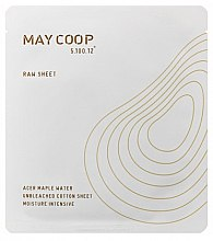 Парфюми, Парфюмерия, козметика Маска за лице с кленова вода - May Coop Raw Mask Sheet Intensywnie