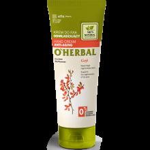 Парфюмерия и Козметика Подмладяващ крем за ръце с екстракт от годжи бери - O'Herbal Rejuvenating Hand Cream With Goji Berry Extract