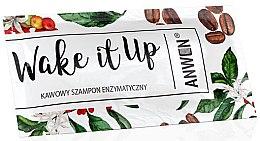 Парфюмерия и Козметика Ензимен шампоан за коса с аромат на кафе - Anwen Wake It Up Shampoo (мостра)