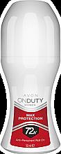 Парфюми, Парфюмерия, козметика Дезодорант антиперспирант - Avon On Duty Max Protection Rol On 72H