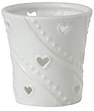 Парфюмерия и Козметика Чаша за свещ - Yankee Candle White Hearts Porta Sampler