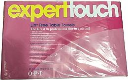 Парфюмерия и Козметика Кърпи без мъх, за еднократна употреба - O.P.I. Expert Expert Touch Table Towels