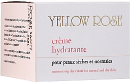Овлажняващ дневен крем за лице - Yellow Rose Creme Hydratante — снимка N1