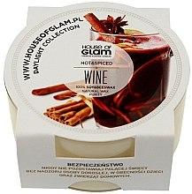 Парфюмерия и Козметика Соева ароматна свещ - House of Glam Hot Spiced Wine Candle (mini)