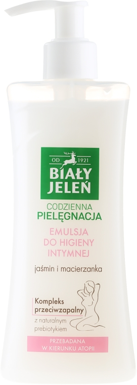 Хипоалергенна емулсия за интимна хигиена с жасмин и мащерка - Bialy Jelen Hypoallergenic Emulsion For Intimate Hygiene