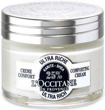 Парфюми, Парфюмерия, козметика Ултраподхранващ крем за лице - L'occitane Ultra Rich Comforting Cream