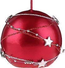 Парфюмерия и Козметика Декоративна свещ, червена, 8см - Artman Christmas Garland