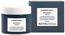Парфюмерия и Козметика Нощен подхранващ витаминен крем за лице - Comfort Zone Renight Cream