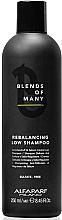 Парфюмерия и Козметика Шампоан за възстановяване на баланса, безсулфатен - Alfaparf Milano Blends Of Many Rebalancing Low Shampoo