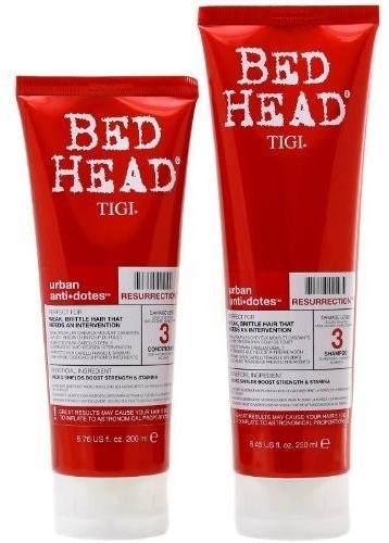 Комплект - Tigi Bed Head Hair Resurrection Set (shm/250ml + cond/200ml) — снимка N3